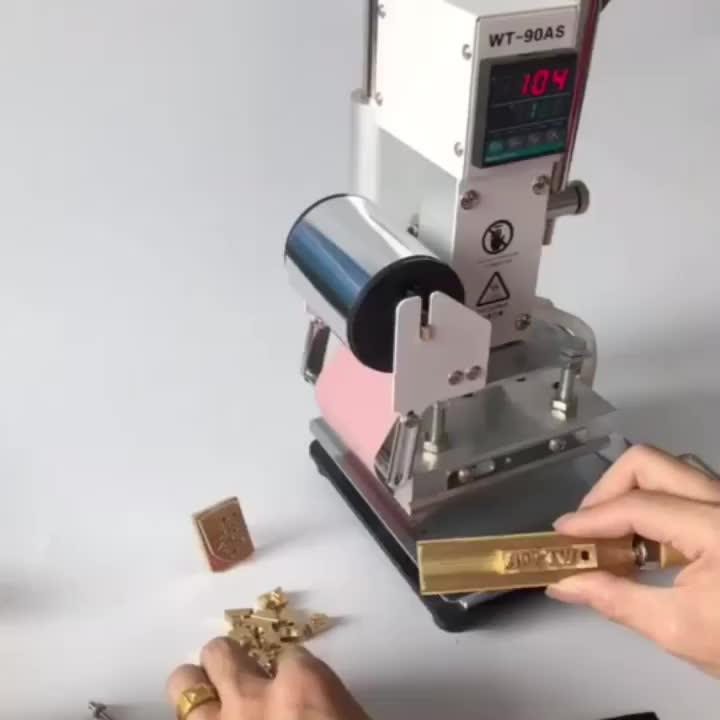 Beste Kwaliteit Goedkoopste Prijs Foliedruk Machine Digitale Foliedruk Machine Voor Lederen Plastic Hout