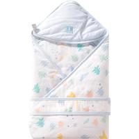 童泰婴儿包被纯棉春秋薄棉抱被新生儿全棉宝宝用品包毯襁褓被子