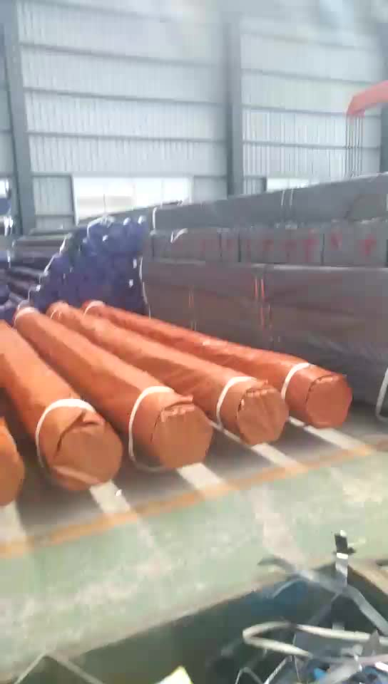 EN 10025 S235JR Black Tubes Insulation Carbon Steel Cold Drawn Precision Seamless Steel Pipes