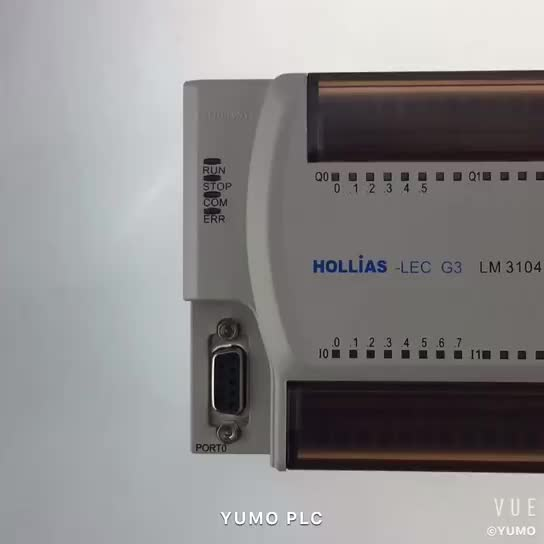 LM3104 Rated Voltage 24V DC 8 Channels DI 6 Channels DO china best and cheap PLC controller