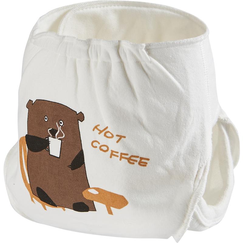 婴儿尿布裤宝宝尿布兜透气可洗新生儿隔尿裤介子固定裤防尿床神器
