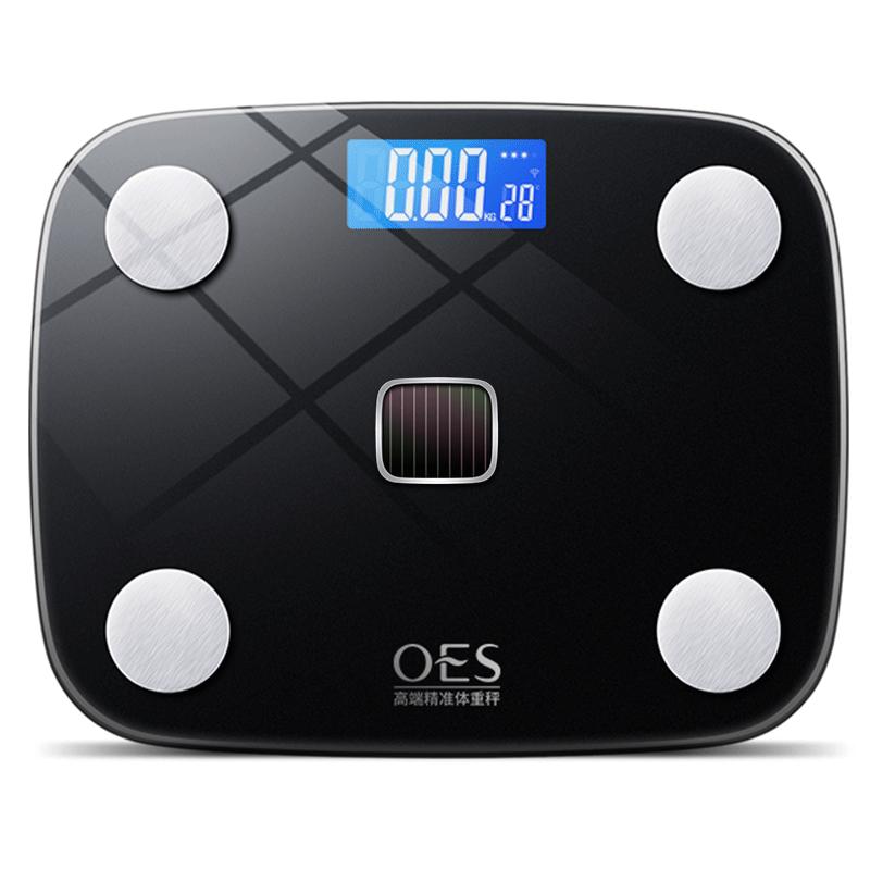 充电款电子称智能测脂肪体脂家用精准体重秤耐用人体称重小型家庭
