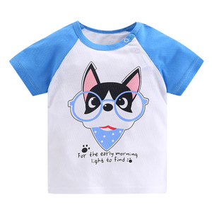 宝宝短袖纯棉夏季婴儿童装夏装t恤