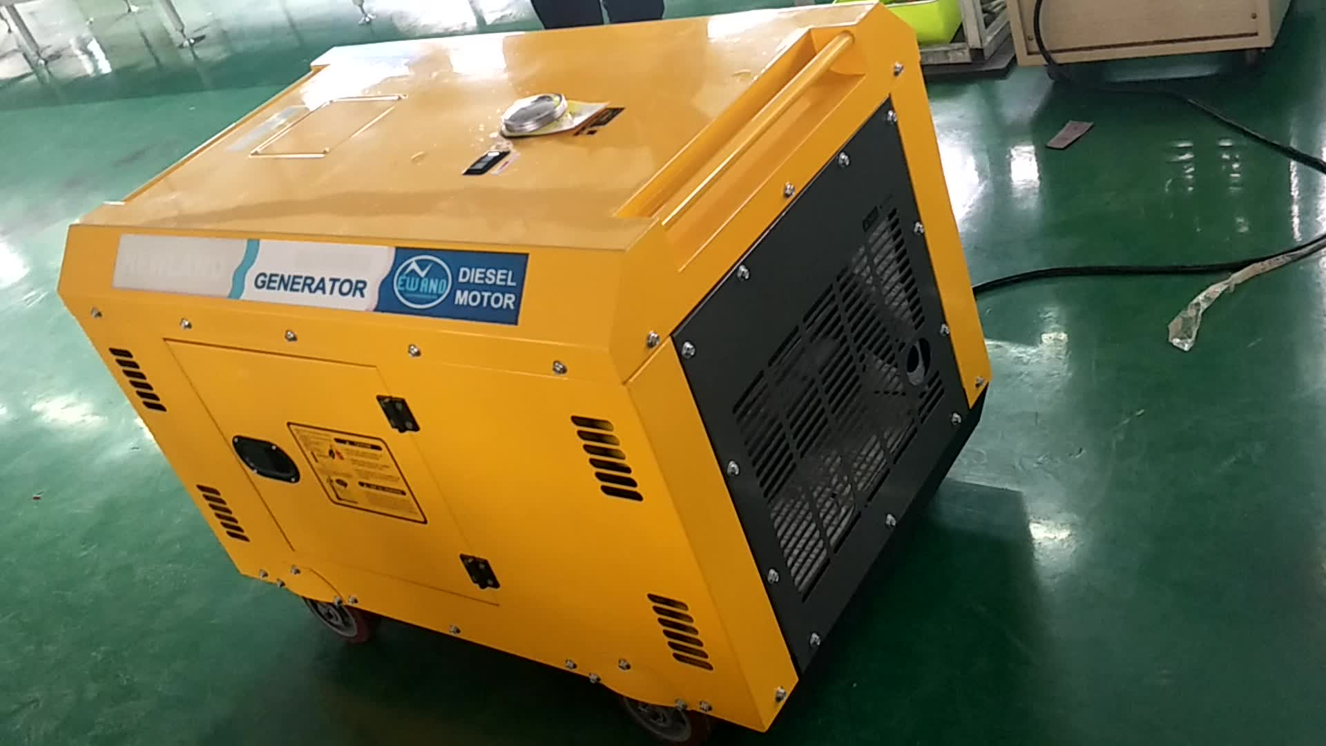 Newland 7 5 Kw Silent Air cooled Diesel Generator With Electric