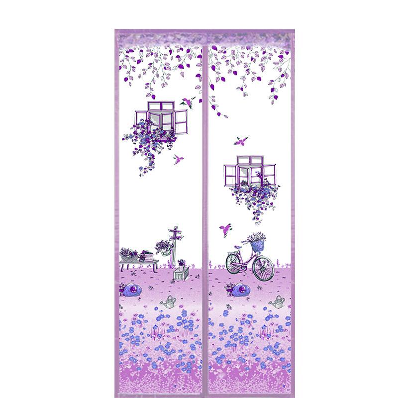 夏季防蚊纱门帘磁性自吸纱门魔术贴质量如何?