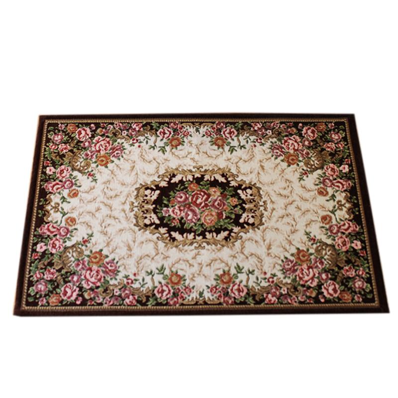 馨采多尼尔欧式提花布艺卧室门厅垫质量好不好