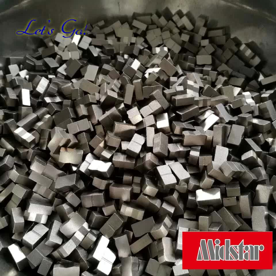 Midstar diamond segment for granite stone cutting
