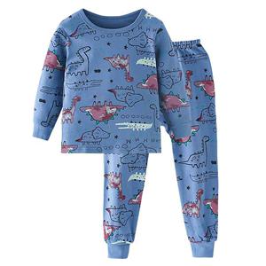 南极人儿童内衣套装男童纯棉睡衣