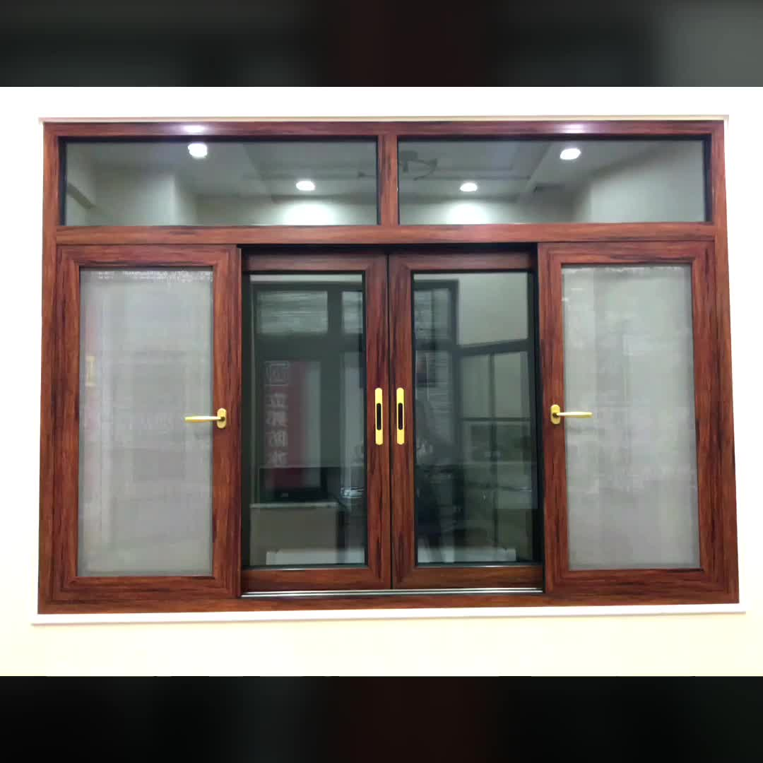 Aluminum Sliding Window With Internal Blinds Privacy