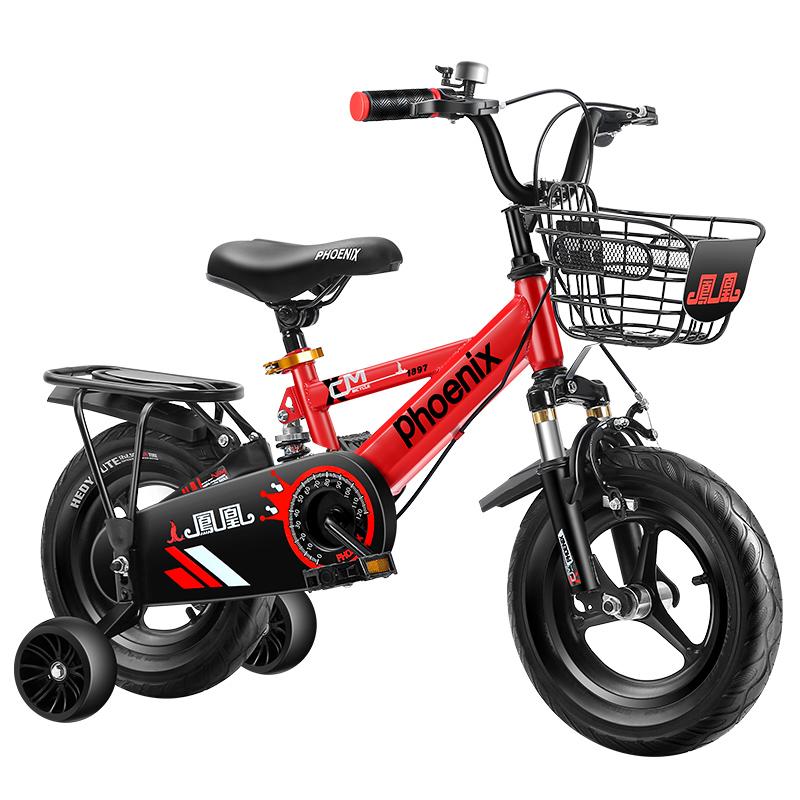 凤凰男孩2-3-6岁脚踏童车自行车好用吗