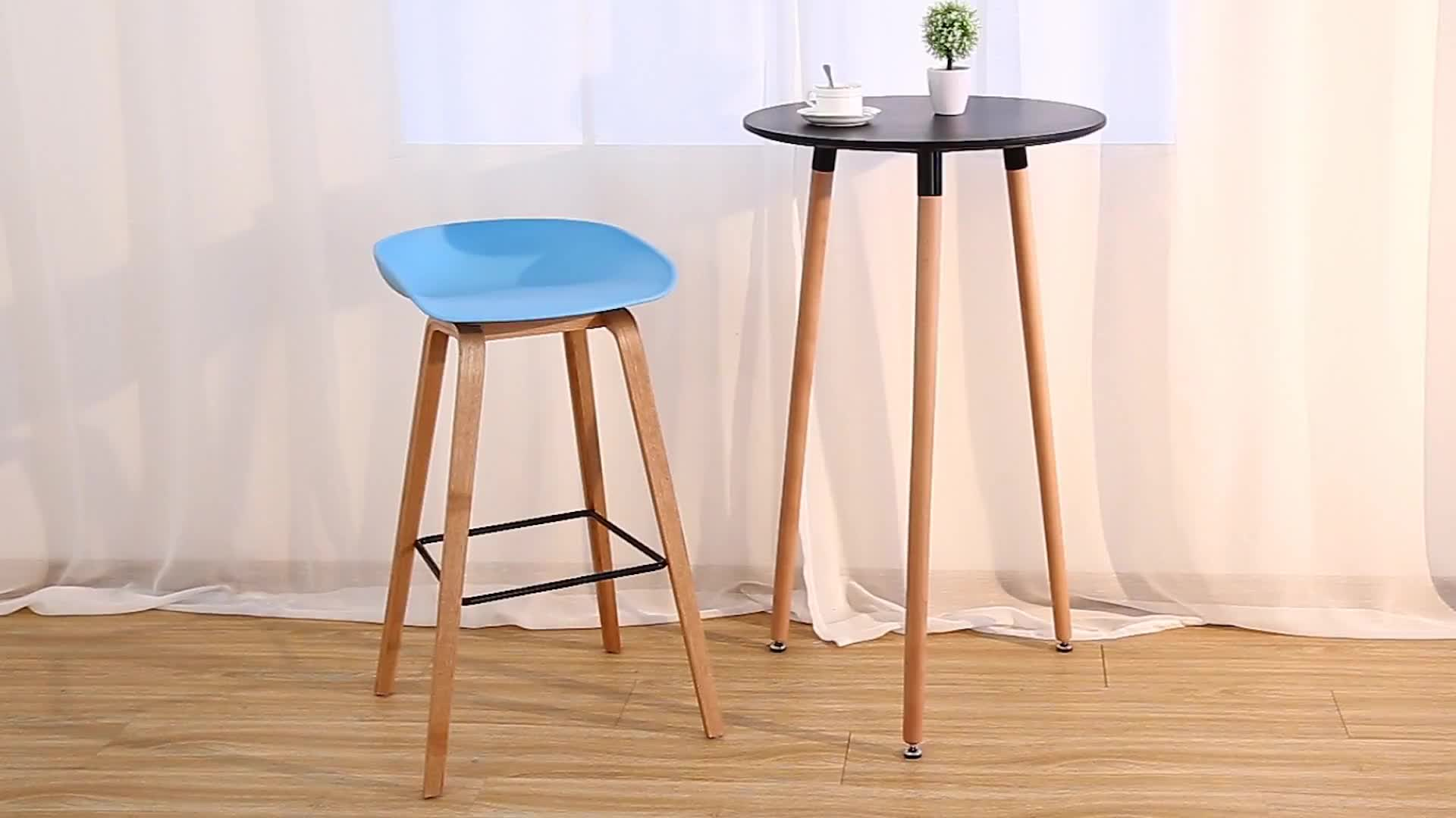Simple Design Cheap Mdf In Matt Painting Bar Table With