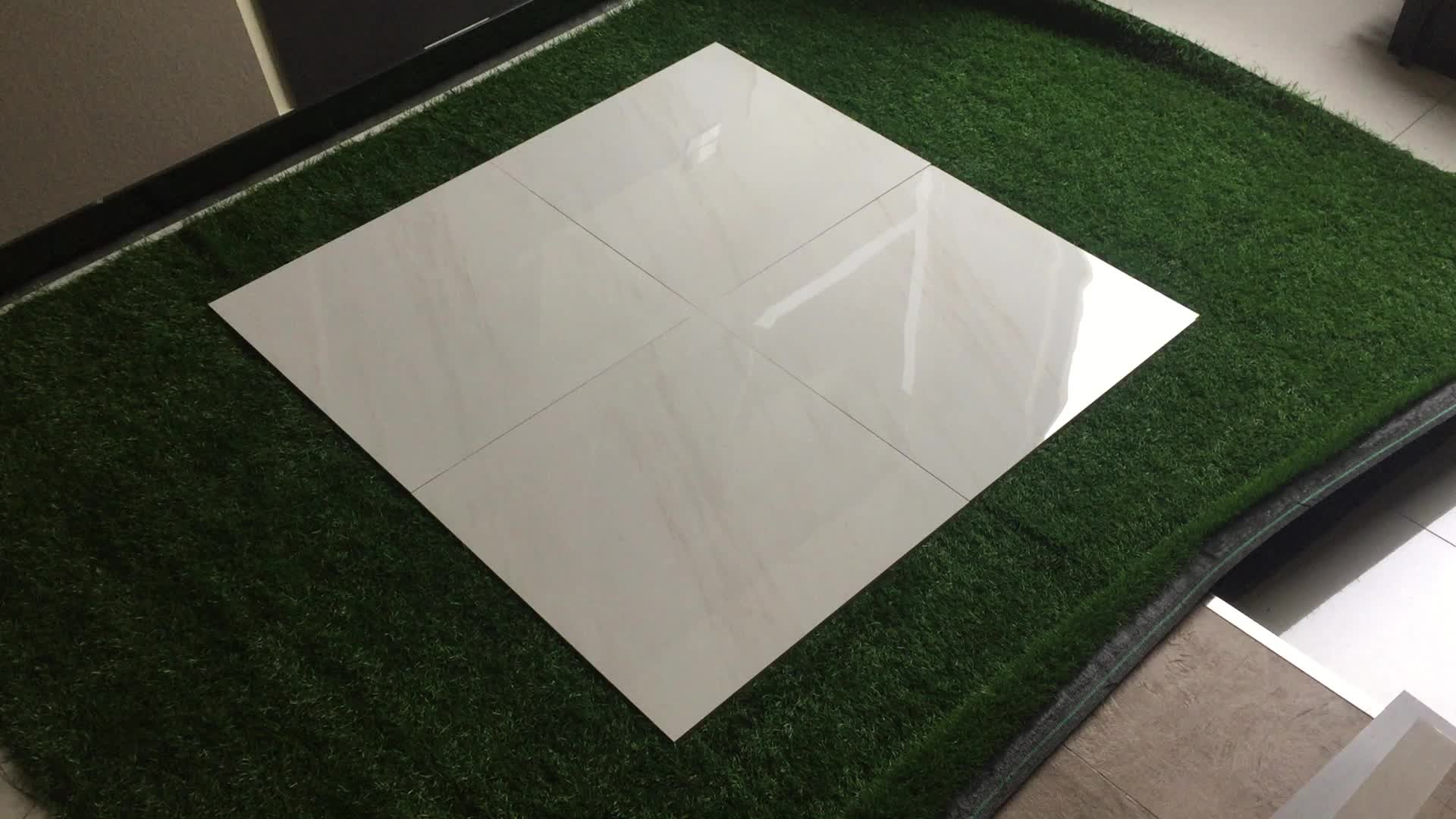 Y60151 Anti Fade Dal French Quarter Mardigras White Tiles 600x600cm