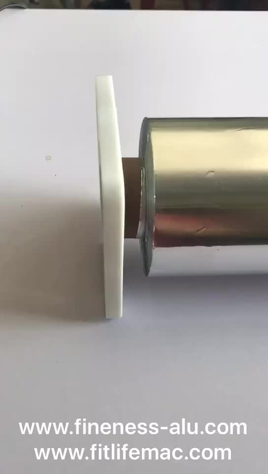 2018 New Household User-friendly Aluminum Foil Rolls Packing Corrugated Box and Cutter