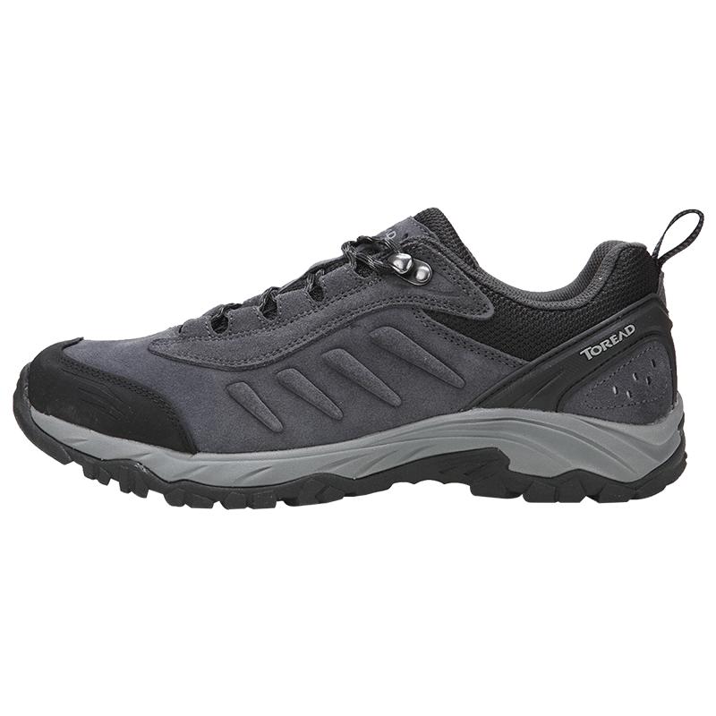 探路者户外运动徒步登山鞋男女低帮爬山鞋轻便山地防滑越野鞋