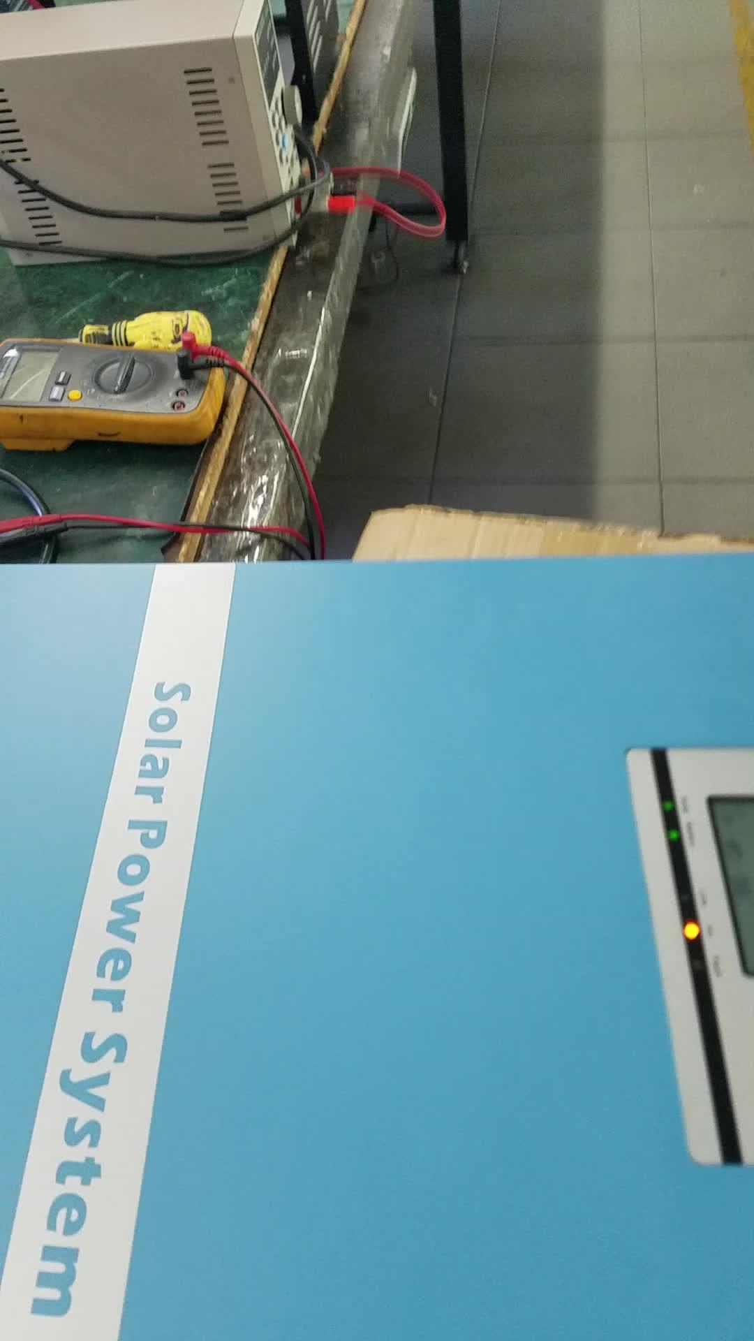 5kw 15kw 20kw 30KW 50KW 100kw trifase Puro inverter a onda sinusoidale; off GrId Solar Inverter