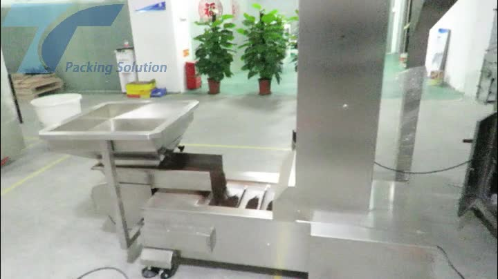 TOP Y MACHINERY Automatic Frozen food/Meat Ball/Frozen French Fries Packing Machine