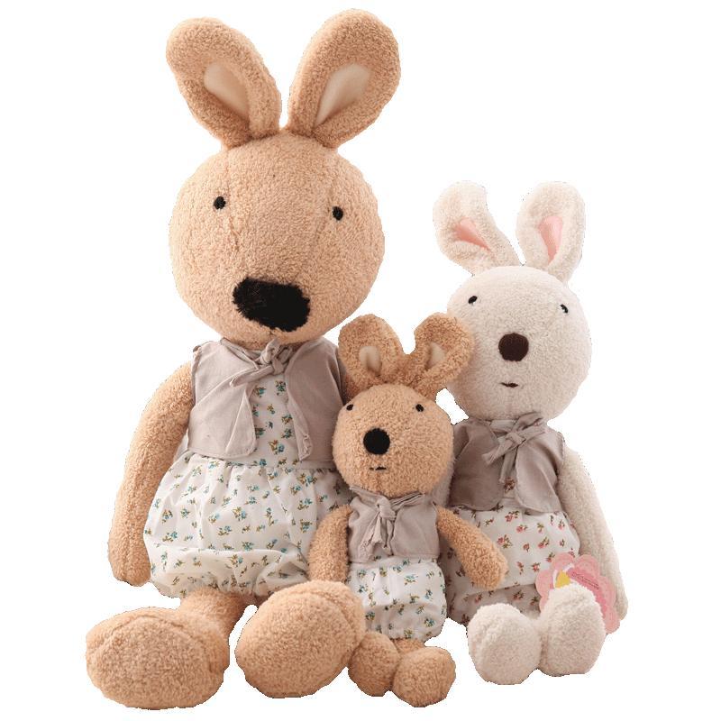砂糖兔公仔毛绒玩具兔子宝宝萌抱枕质量怎么样