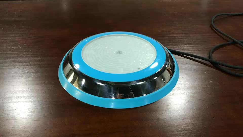 RGB surface mounted waterproof led swimming pool light