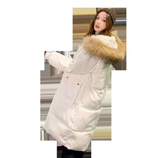 冬季中长款2020年新款潮流潮女棉服