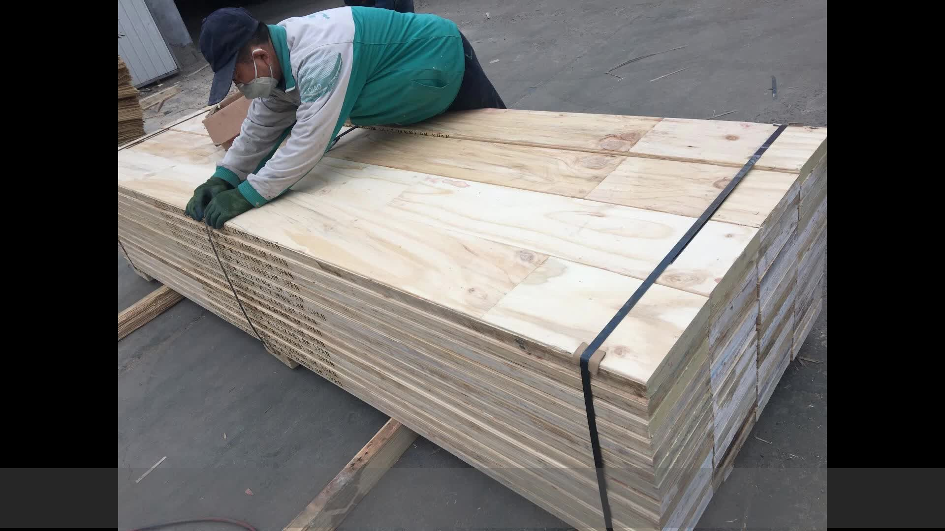WADA China pine lvl scaffolding wooden construction plywood plank