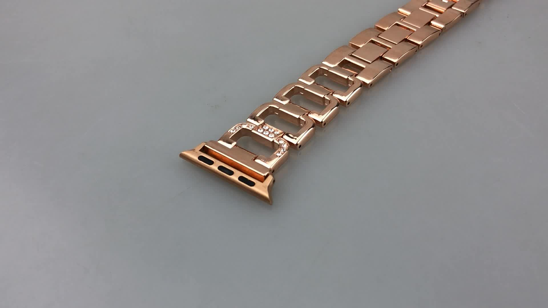 For Fitbit 22mm Metal Watch Strap Stainless Steel 20mm