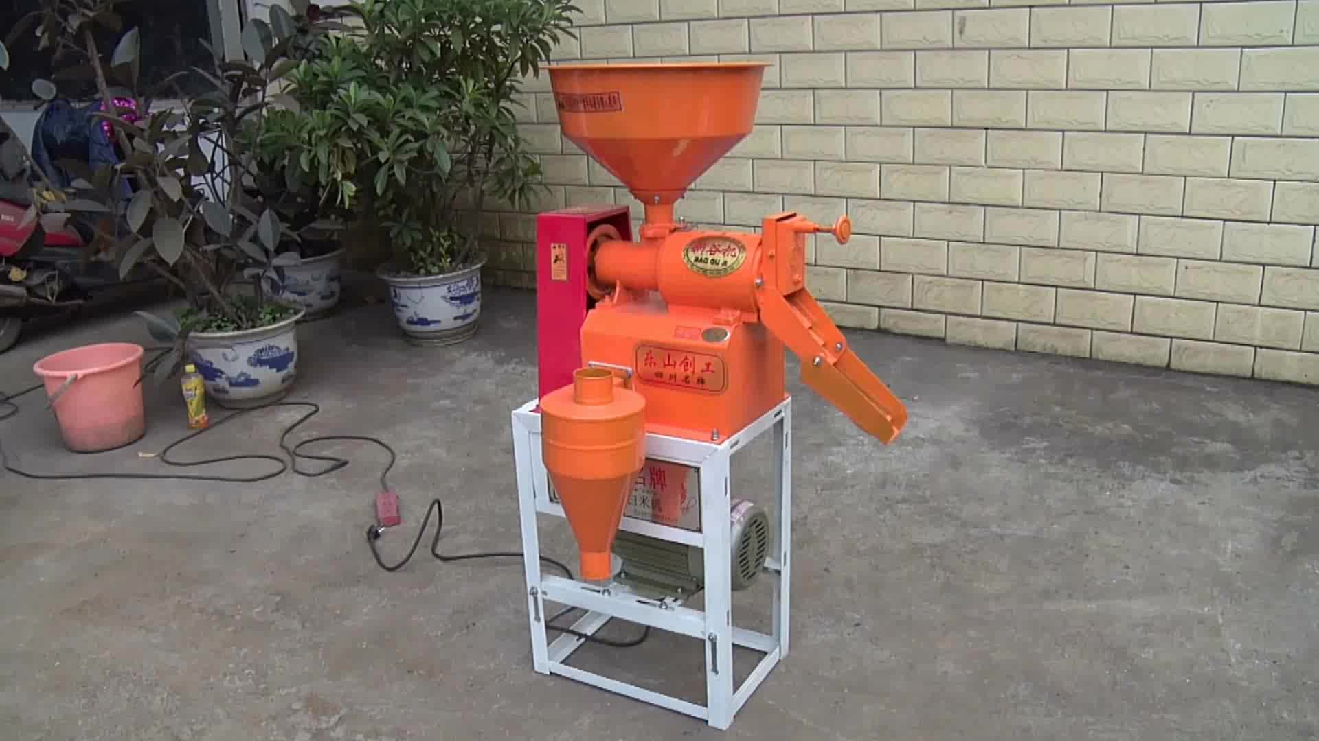 Factory direct price fully automatic vibratory screen type mini rice mill machine in nepal 6N40