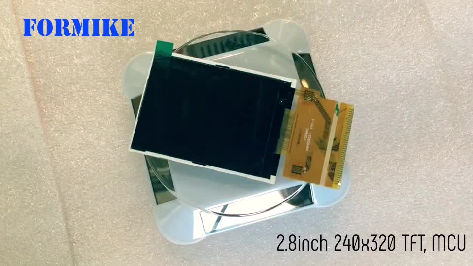 """Rohs Certificated 240x320 2.8"""" TFT LCD module Cog Tft Lcd for Medical Device"""