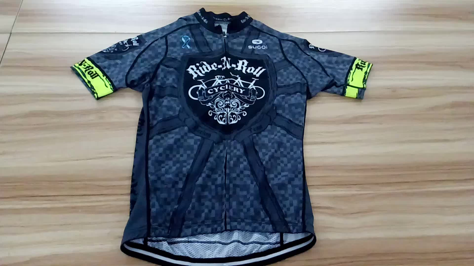 High Quality Sublimation men thin cycling jerseys thin OEM Team Name Breathable  Bike Clothes Cycling Jersey