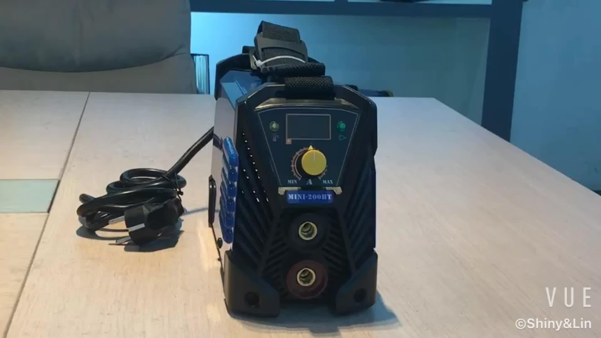 Mini portátil 220 V máquina de soldadura precio list160 amp inversor igbt máquina de soldadura