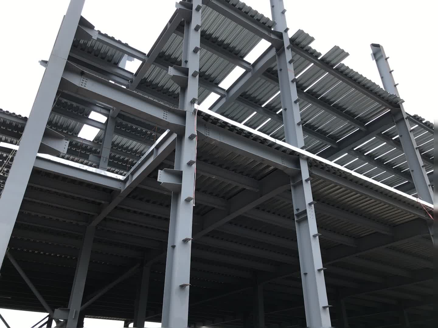 Custom Made Low Carbon Steel Second Hand Steel Structures