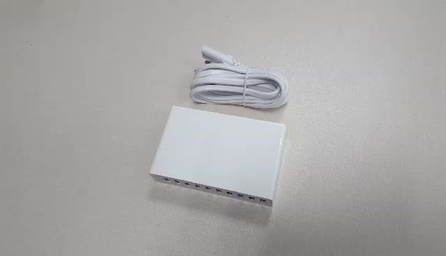 High Quality 50W 10A multi USB charger port mobile phone charger power station supply 10 usb port travel charger