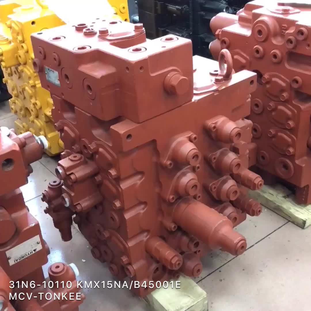 Kontrol Hidrolik Katup ASSY 31NB-10110 31NB-17110 Excavator R450LC-7 R455 R485 R455 R505 MCV Control Valve