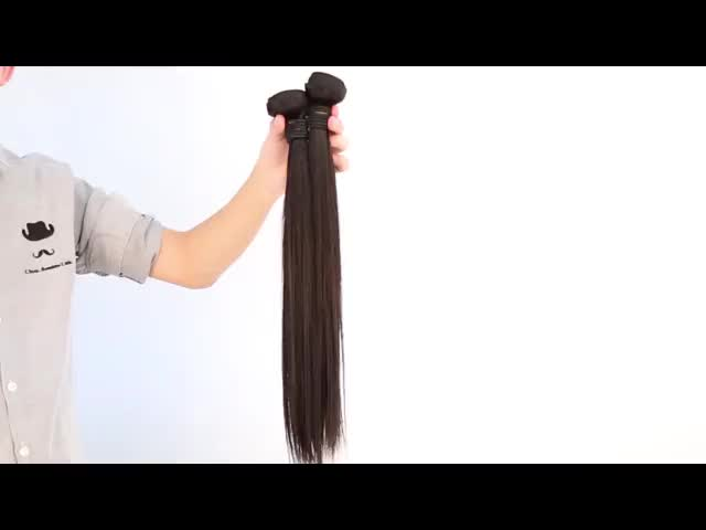 100% Natural Indian Human Hair Extension Virgin Large Stock Unprocessed Wholesale China Suppliers