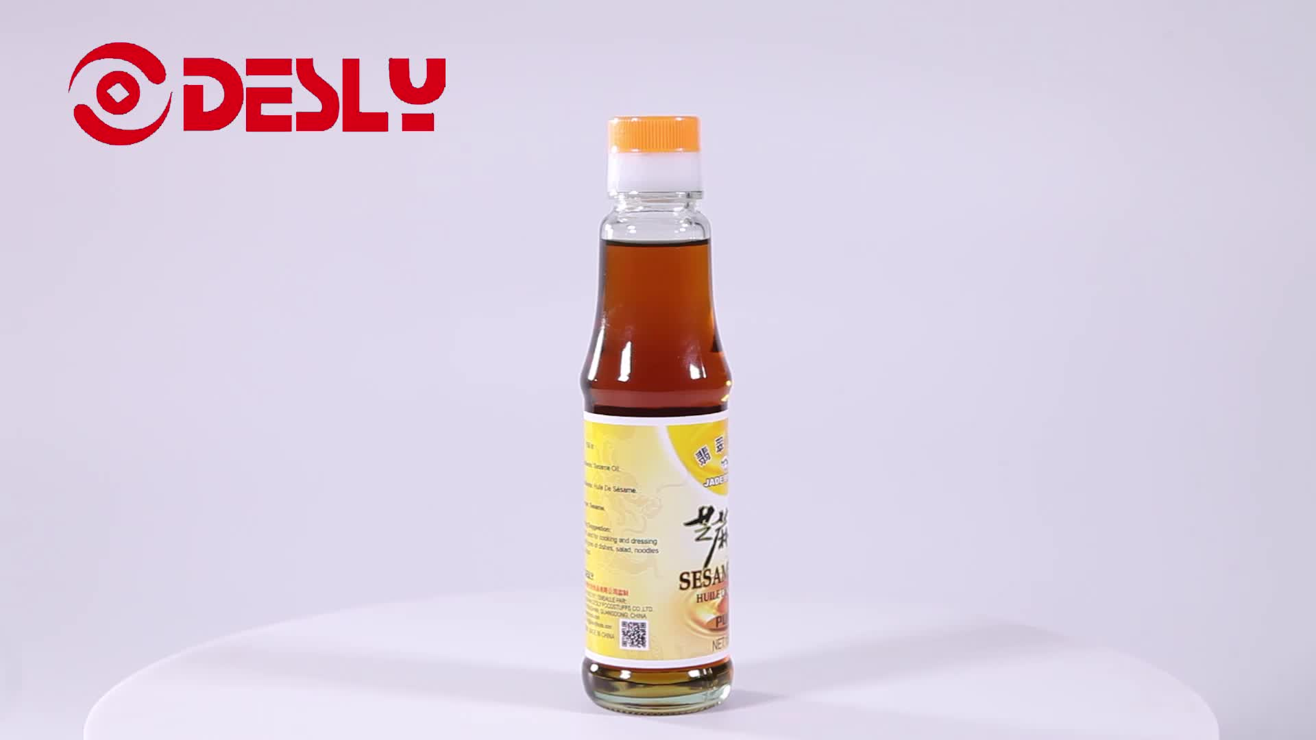 150ml High Quality Pure Sesame Oil from edible cooking oil