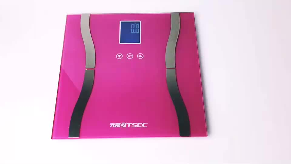 Hotselling Digital Bathroom Weight Scale, Electronic Balance High Accuracy Digital Bathroom Weighing Fat Scale