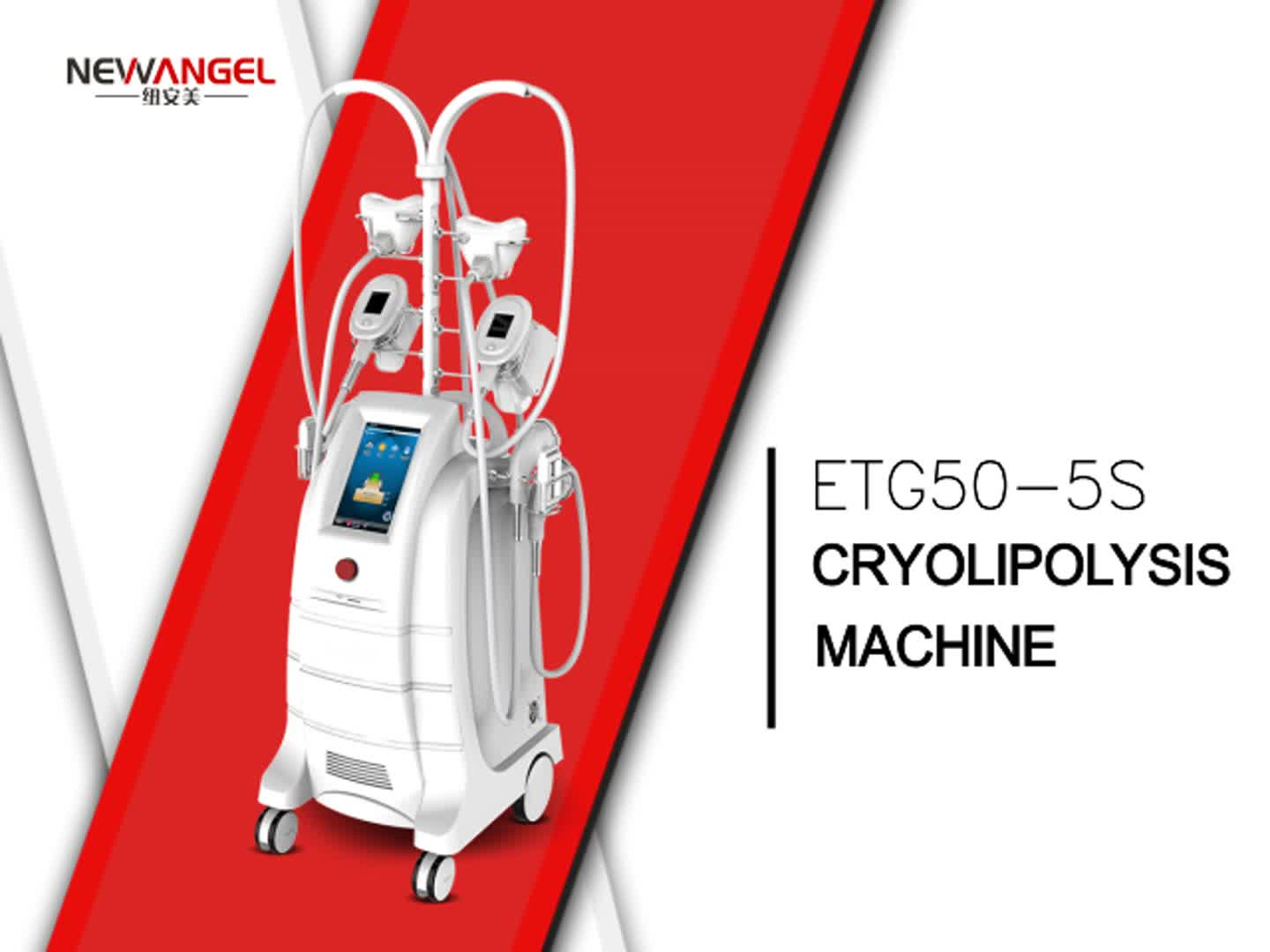 Cryolipolysis machine double chin treatment cryotherapy facial equipment