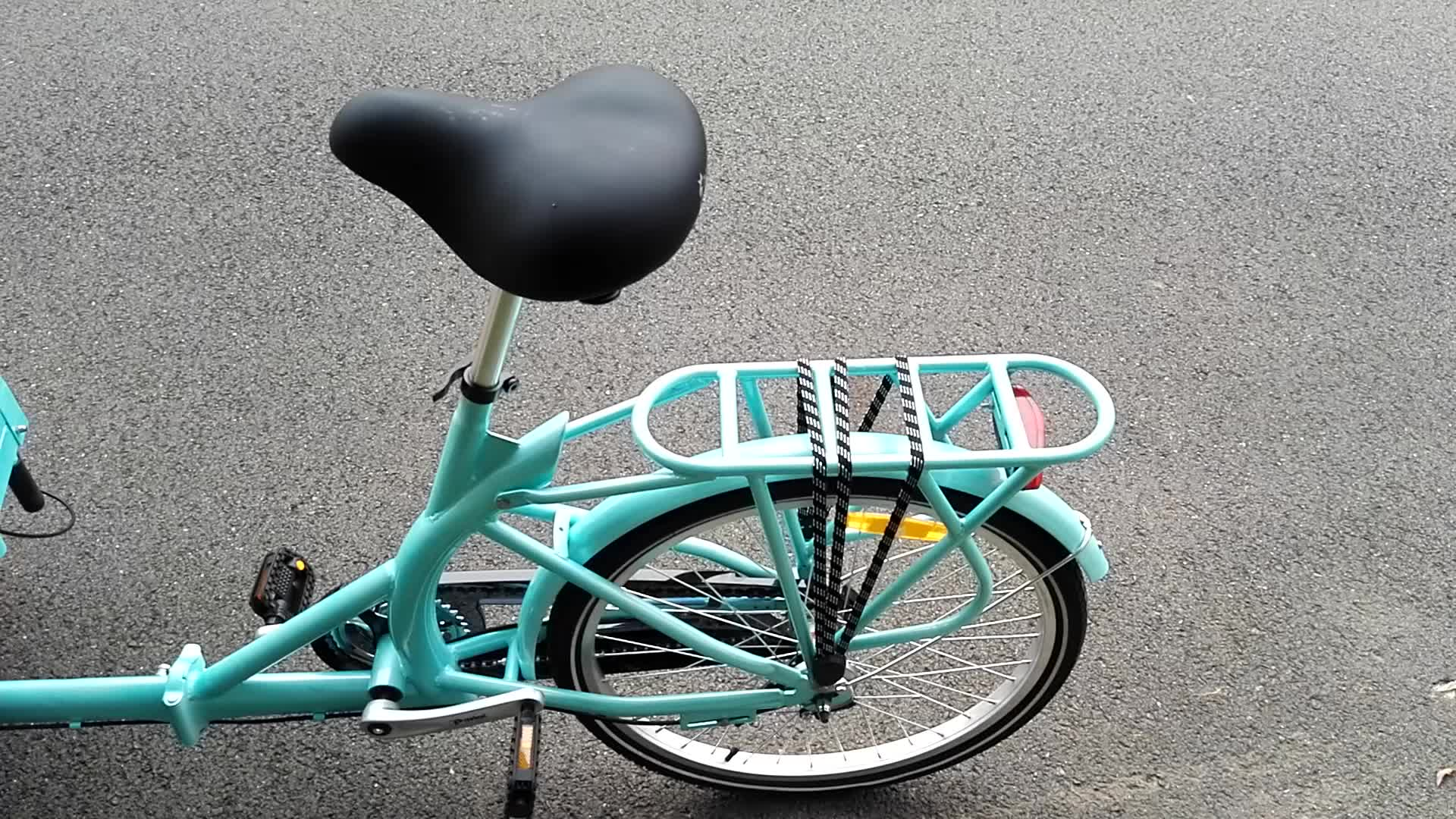 7 speed ice cream cargo bike for sale adult tricycle cargo bike for sales UB-9005BW