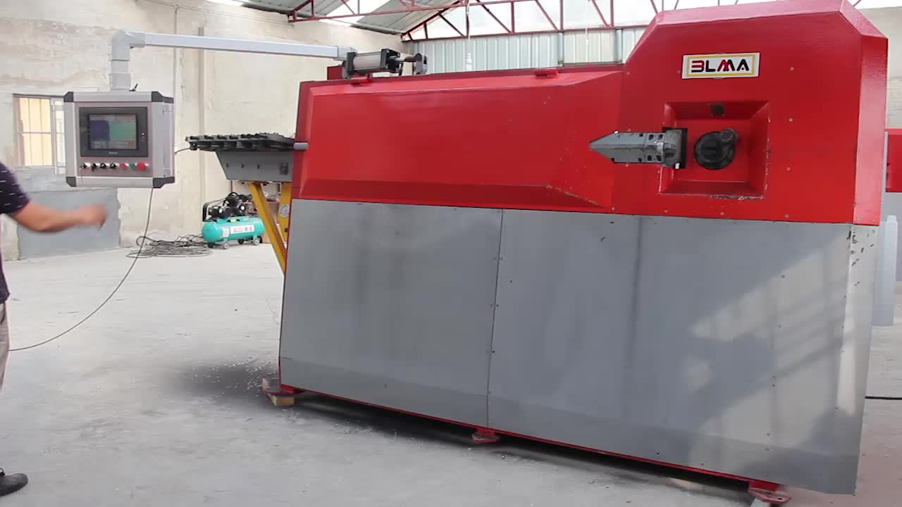 Wire Straightening And Cutting Steel Rod Bender For Sale Stirrup Bending  Machine, View stirrup bending machine, BLMA Product Details from Nanjing  Blma