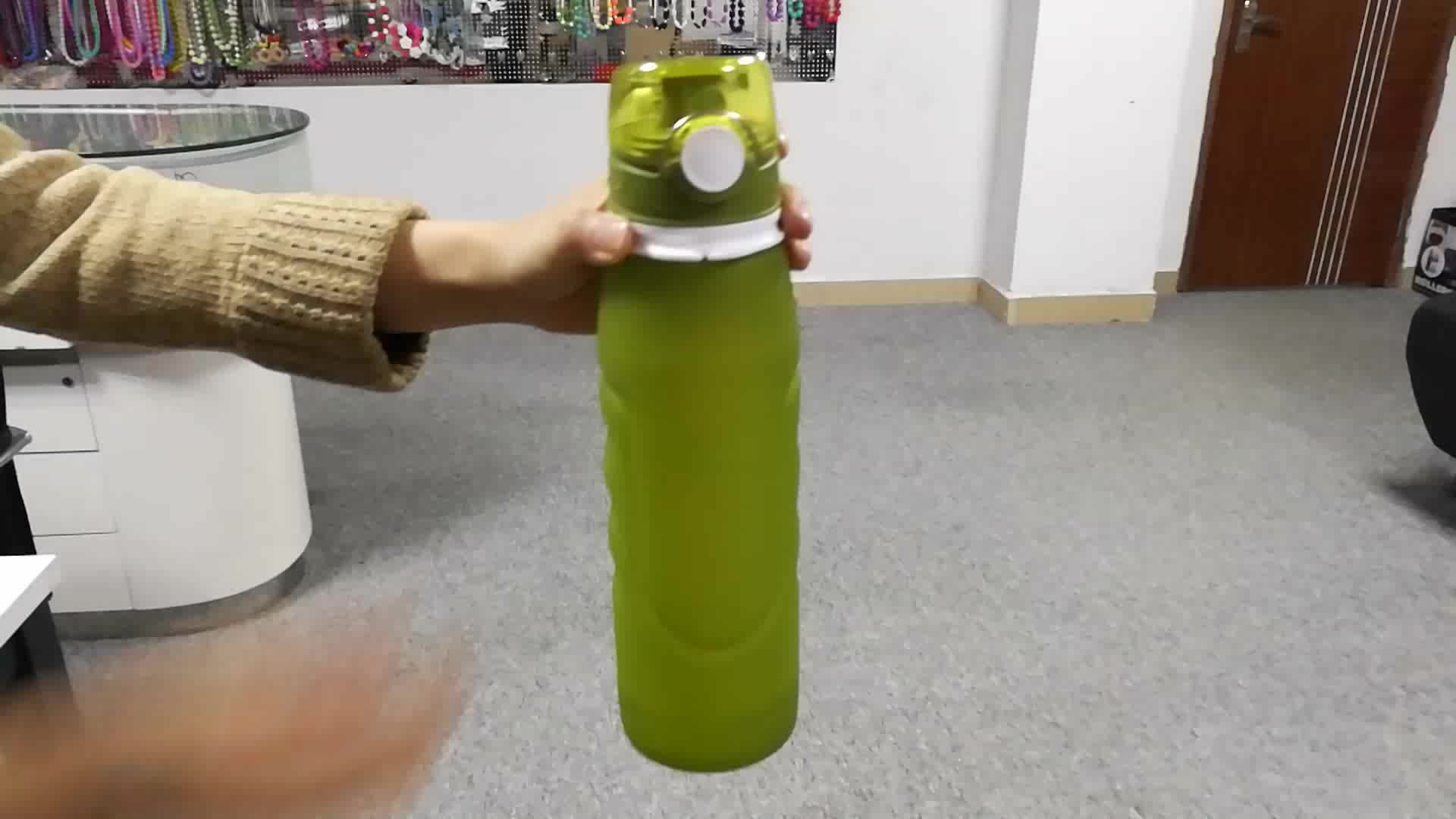 Silicone Collapsible Water Bottle Manufacturer, BPA Free Water Bottle Wholesale