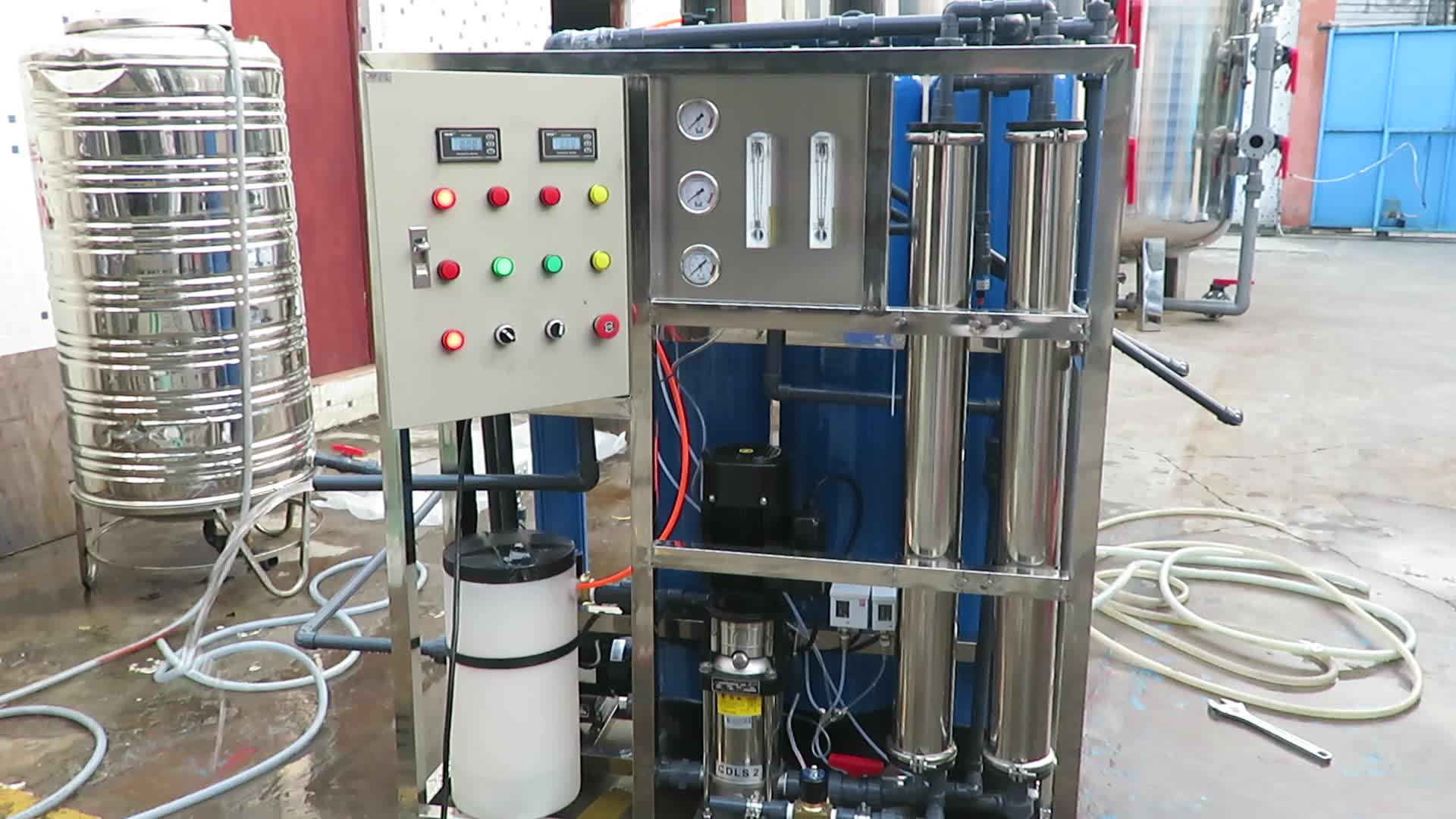 500L H medical water purification machine reverse osmosis water