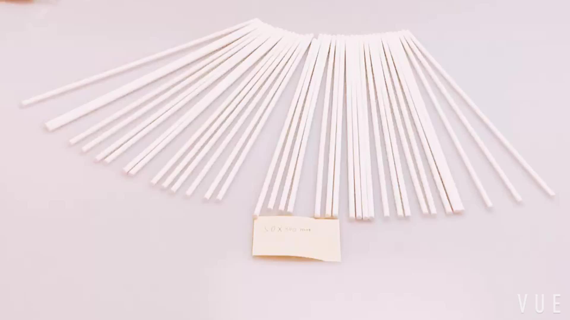 Di alta Standard di Sicurezza Personalizzabile Colore E Formato Lungo Bastone di Carta Per Il Cotone Candyfloss