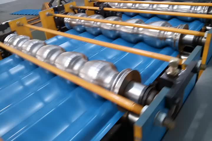 Hangzhou Used Box Wall Panel Roll Forming Machine