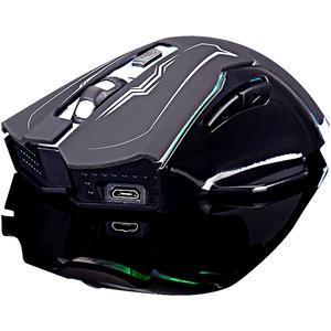 冰狐无声静音无线充电笔记本鼠标