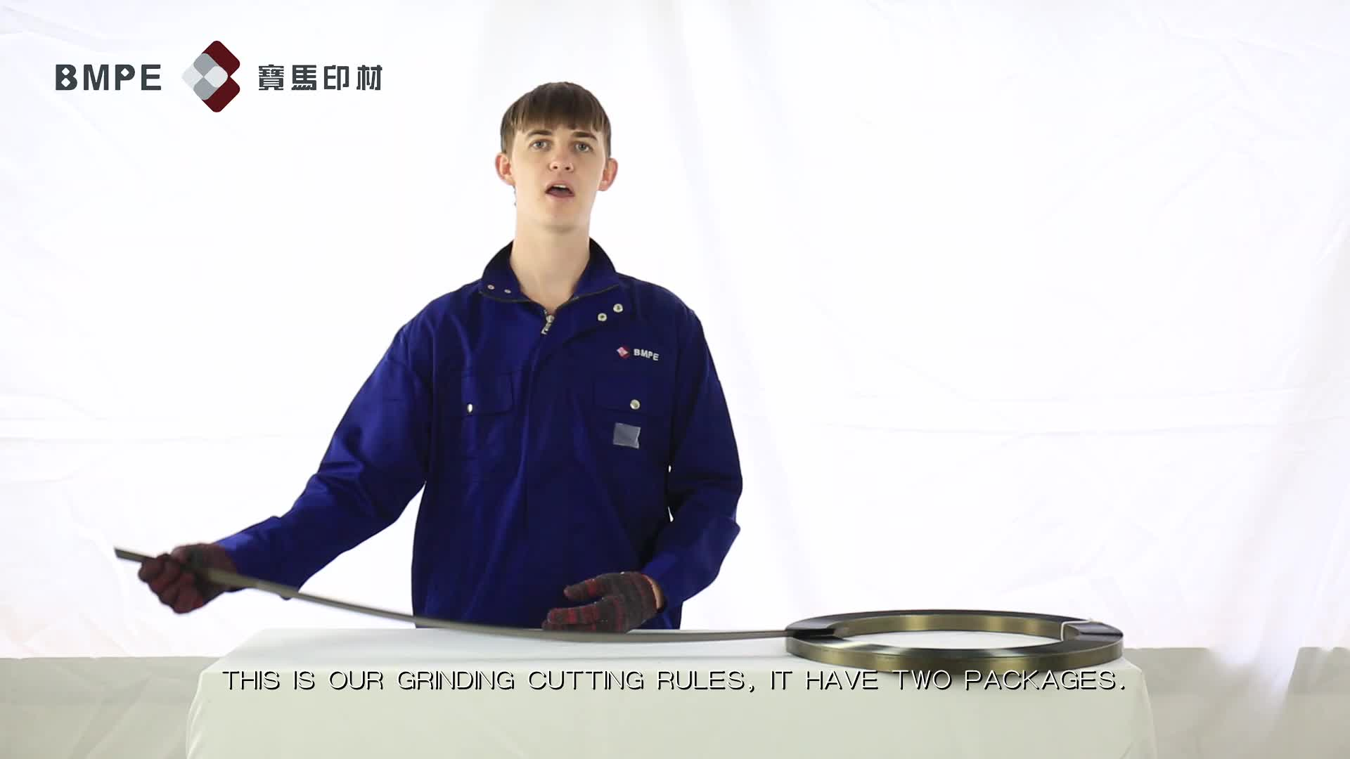 BOHMER grinding double-edge cutting rules