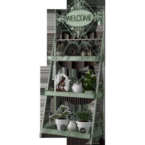 阳台装饰花架家用铁艺多层室内客厅绿萝多肉花盆架子花架置物架