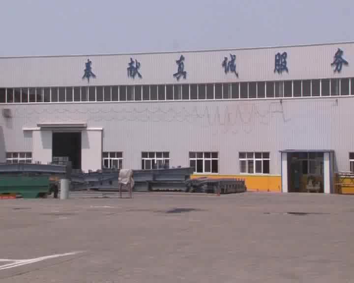 Low Cost Maintenance High Security Prefabricated Construction Light Gabled  Steel Frame For Hangar