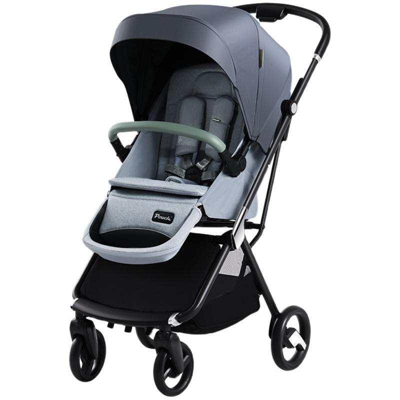 pouch婴儿高景观可坐可躺双向伞车好用吗