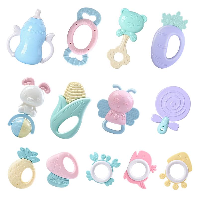新生婴儿玩具咬胶早教益智男孩摇铃好不好