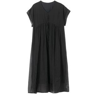 遮肚子显瘦夏2021新款大码连衣裙