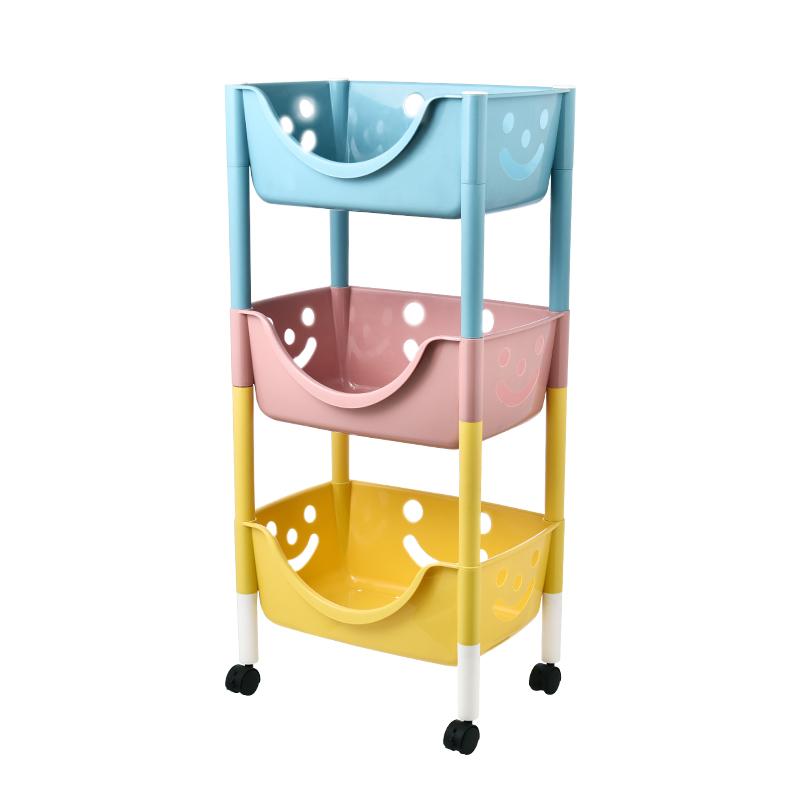 儿童玩具塑料收纳架落地多层收纳箱质量怎么样